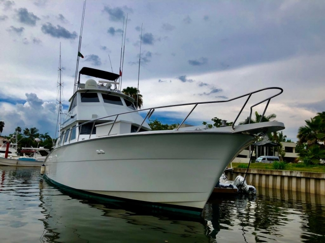 60 ft. Hatteras - Sport Fishing Yacht