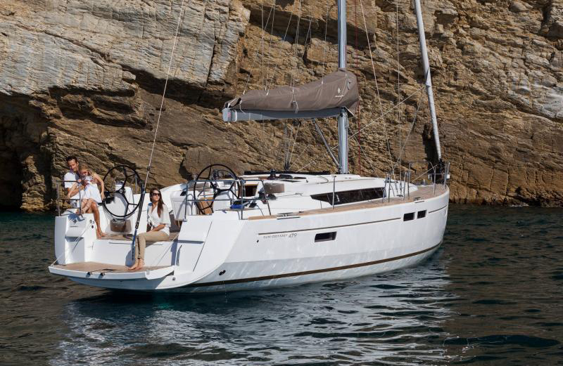 48 ft. Sun Odyssey - Luxury Sailboat - Up to 8 People1